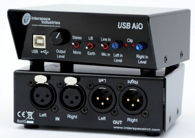 #Cueing Systems - #AiO with Skype and other platforms the versatile Audio in/out #soundcard on USB